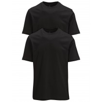 COMMANDER T-Shirt Doppelpack  - Schwarz