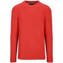 Rundhals Pullover Cotton Cashmere - Winter Melon