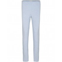 HOMEWARE Leggings Ringel - Bleu Mel Silver