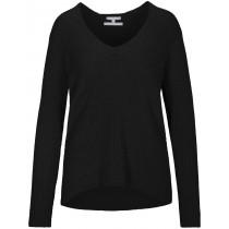 V-Neck Pullover SARA - Black
