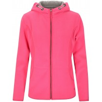 Fleecejacke DANIELA - Power Fuchsia