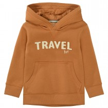 BASEFIELD Hoodie TRAVEL - Hazel Brown