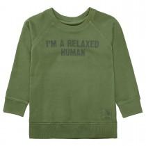 Sweatshirt  - Turtle Green mit Raglan-Ärmeln