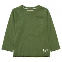BASEFIELD Langarmshirt - Turtle Green