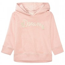 BASEFIELD Kapuzensweatshirt DREAM  - Blush Rose mit Wording