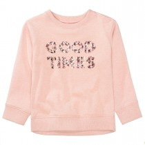 BASEFIELD Sweatshirt GOOD TIMES - Blush Rose