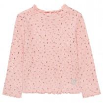 BASEFIELD Langarmshirt mit Print  - Blush Rose