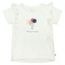 BASEFIELD T-Shirt SO LOVELY - Offwhite