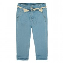 BASEFIELD Jeans mit verwaschener Optik - Light Blue Denim