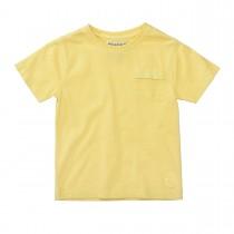 BASEFIELD T-Shirt mit Brusttasche - Yellow
